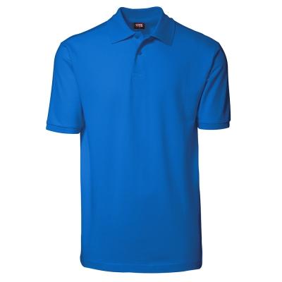 YES polo shirt Azure,