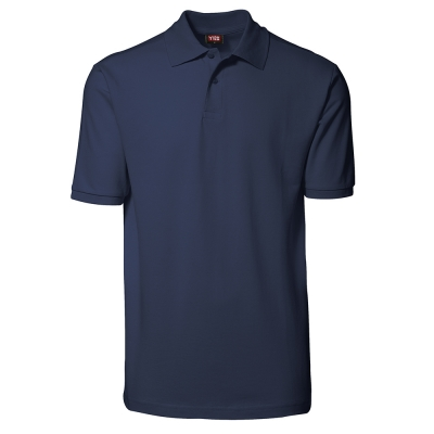 YES polo shirt Navy,