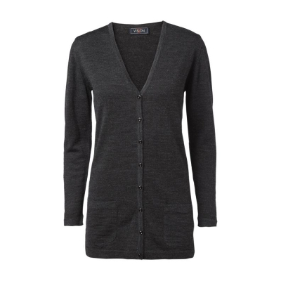 Ladies Cardigan Clipper Black