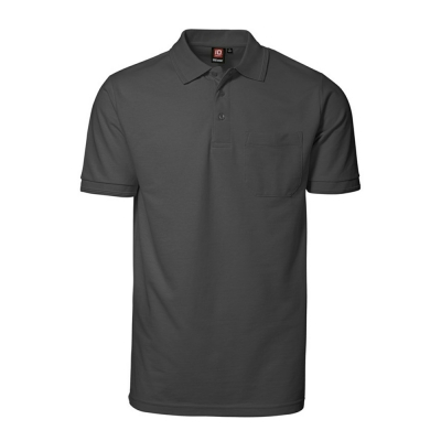 PRO wear polo shirt | pocket Charcoal,