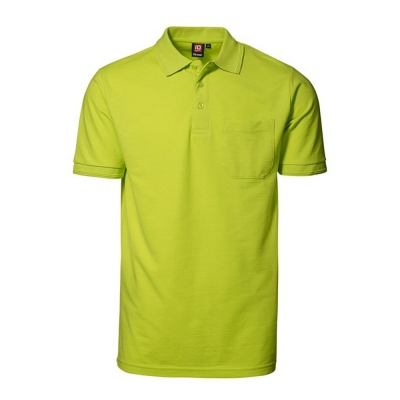 PRO wear polo shirt | pocket Lime