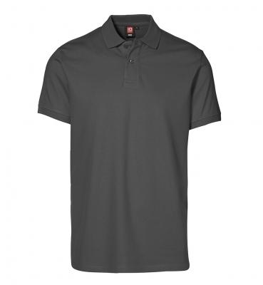 Piqué polo shirt | stretch Charcoal