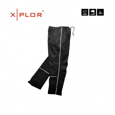 XPLOR, Waterproof pants, black/zwart