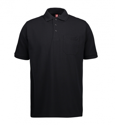 PRO wear polo shirt | pocket Black,