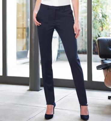 Ophelia Slim Leg Trouser Navy P/Dot (W)