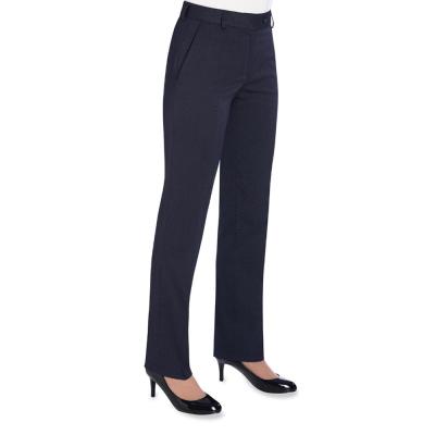 Bianca TailoredFit Trouser(W) Navy P/Dot