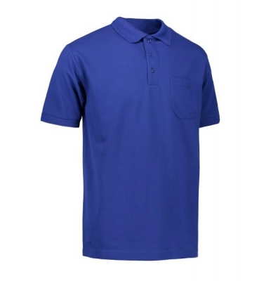 PRO wear polo shirt   pocket Royal blue,